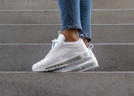 Nike AIR MAX 97 2019 SS Round Toe Lace up Casual Style Unisex Street Style Plain (917646 202)