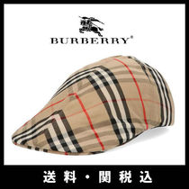 Burberry Street Style Beret & Hunting Hats