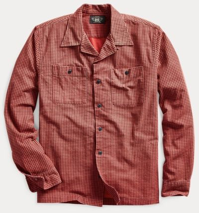 RRL Other Plaid Patterns Surf Style Long Sleeves Cotton