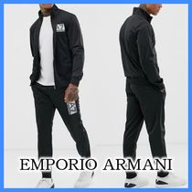 EMPORIO ARMANI Unisex Blended Fabrics Street Style Top-bottom sets
