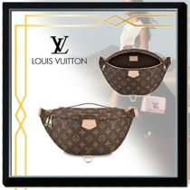 Louis Vuitton MONOGRAM Monogram Canvas Blended Fabrics Street Style 2WAY