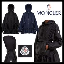 MONCLER TBILISSI Casual Style Nylon Plain Long Outerwear