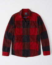 Abercrombie & Fitch Other Check Patterns Jackets