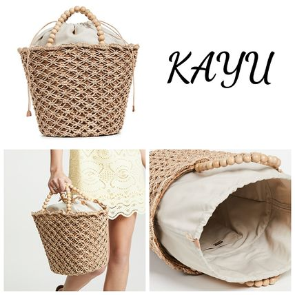 Casual Style Plain Totes