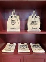 GUCCI Casual Style Unisex A4 Other Animal Patterns Totes