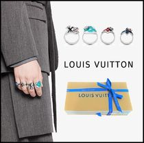 Louis Vuitton 2019-20AW LV FAIRYTALE SET OF RINGS silver M,L ring