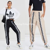 adidas Printed Pants Casual Style Nylon Street Style Long Pants