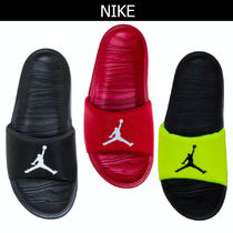 Nike Faux Fur Street Style Shower Shoes Shower Sandals
