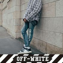 Off-White Street Style Jeans & Denim