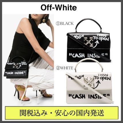 Casual Style Street Style 2WAY Plain Leather Shoulder Bags