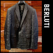 Berluti Short Wool Blazers Jackets