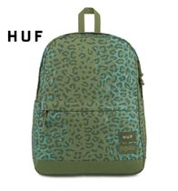 HUF Leopard Patterns Street Style Collaboration A4 Backpacks