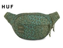 HUF Leopard Patterns Street Style Collaboration Hip Packs