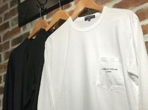 COMME des GARCONS Crew Neck Unisex Street Style Long Sleeves