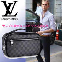 Louis Vuitton DAMIER GRAPHITE Clutches