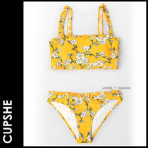 CUPSHE Flower Patterns Bikinis