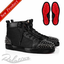 Christian Louboutin Studded Street Style Sneakers