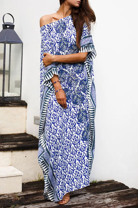 Casual Style Maxi Long Short Sleeves Dresses