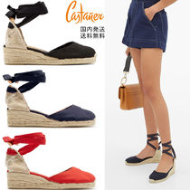 Castaner Plain Platform & Wedge Sandals