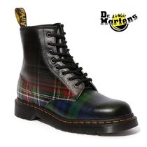 Dr Martens Unisex Blended Fabrics Street Style Leather Engineer Boots