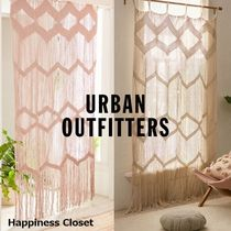 Urban Outfitters Fringes Geometric Patterns Curtains