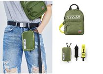 BMS FRANCE Unisex Street Style Plain Backpacks