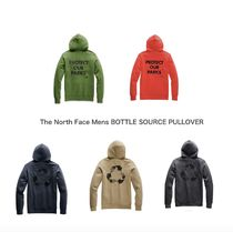 THE NORTH FACE Pullovers Unisex Street Style Long Sleeves Plain Hoodies