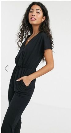Casual Style V-Neck Cotton Long Dresses