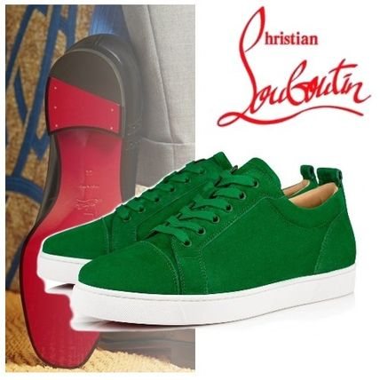 best service 6adfc 2d9fd Christian Louboutin LOUIS 2019-20AW Unisex Street Style Leather Sneakers  (3170052E260)