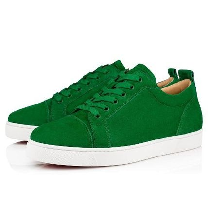 best service f7944 6d7e4 Christian Louboutin LOUIS 2019-20AW Unisex Street Style Leather Sneakers  (3170052E260)
