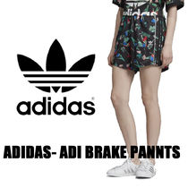 adidas Short Flower Patterns Casual Style Nylon Street Style Python
