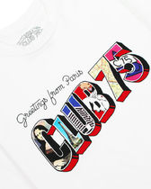 CLUB 75 Crew Neck Crew Neck Pullovers Unisex Street Style Collaboration Cotton 6