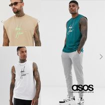 ASOS Crew Neck Sleeveless Street Style Cotton Vests & Gillets