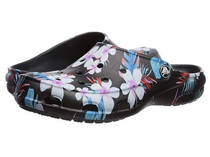 Tropical Patterns Casual Style Slippers Shoes