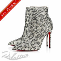 Christian Louboutin So Kate Plain Pin Heels Elegant Style Ankle & Booties Boots