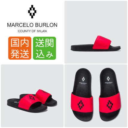 Open Toe Rubber Sole Casual Style Street Style Shower Shoes