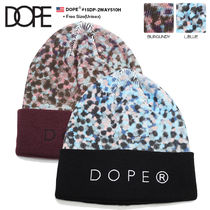 DOPE couture Unisex Street Style Knit Hats