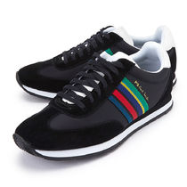 Paul Smith Stripes Suede Sneakers