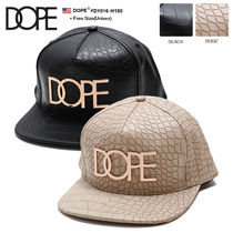 DOPE couture Unisex Street Style Caps