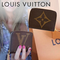 Louis Vuitton MONOGRAM Monogram Unisex Canvas Coin Purses