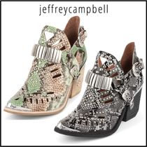 Jeffrey Campbell Casual Style Other Animal Patterns Leather Block Heels