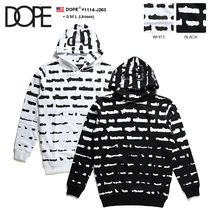 DOPE couture Pullovers Monogram Unisex Sweat Street Style Long Sleeves