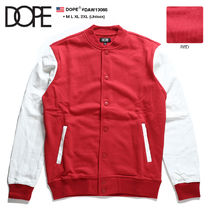 DOPE couture Button-down Unisex Sweat Street Style Bi-color Long Sleeves