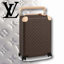 Louis Vuitton MONOGRAM Unisex 1-3 Days Soft Type Carry-on Luggage & Travel Bags