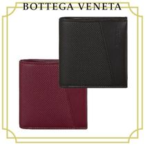 BOTTEGA VENETA Plain Folding Wallets
