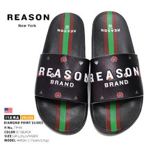 REASON Stripes Unisex Street Style Shower Shoes PVC Clothing