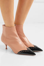 MiuMiu Leather Ankle & Booties Boots