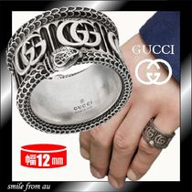 GUCCI GG Marmont Silver Rings