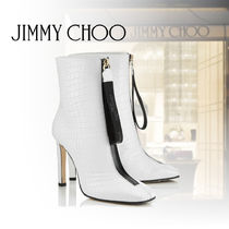 Jimmy Choo Plain Other Animal Patterns Leather Party Style