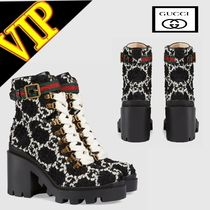 GUCCI Rubber Sole Ankle & Booties Boots